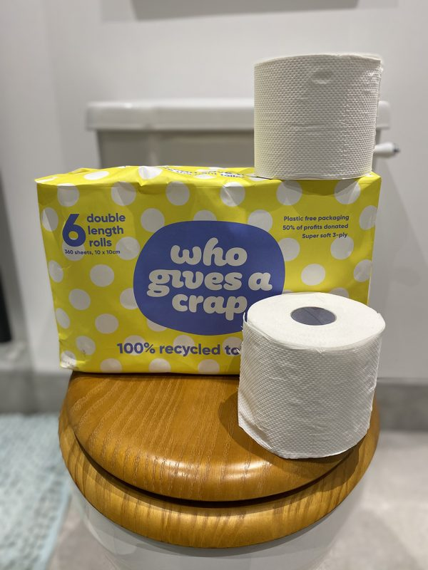 Who gives a crap toilet roll